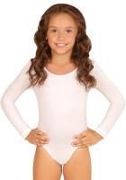 Body blanc classique pour enfants