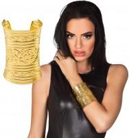 Verziertes Iseret Armband In Gold