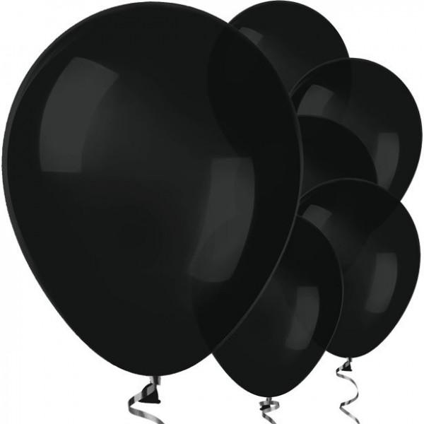 50 Schwarze Luftballons Jive 30cm