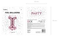 Vorschau: Folienballon I roségold 35cm