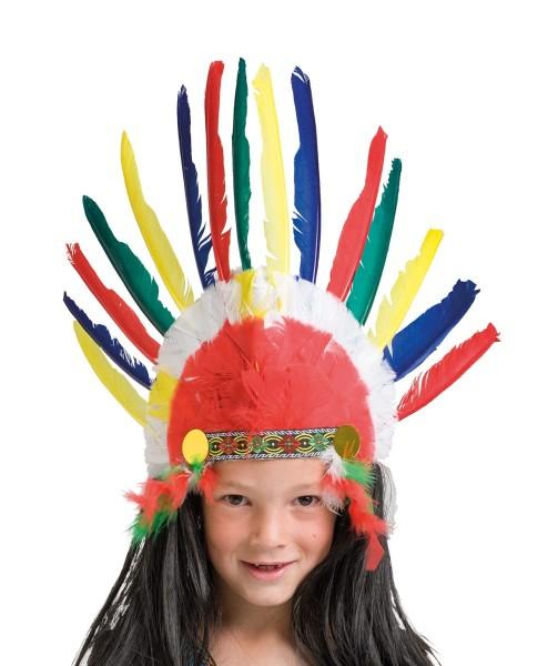 Indianer Federkopfschmuck Kenai