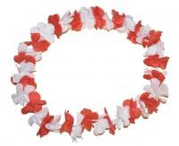 Karneval Kette Rot Weiß