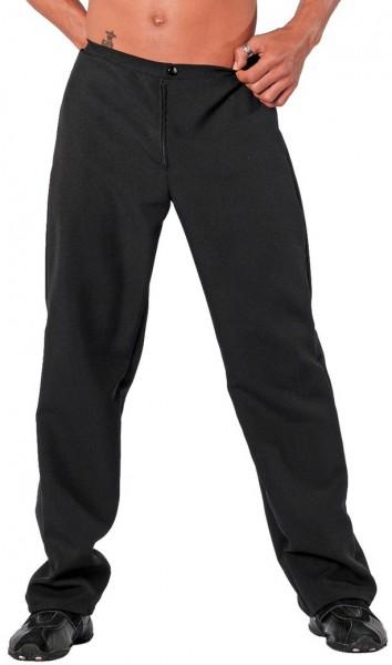 Pantaloni da uomo classici in nero