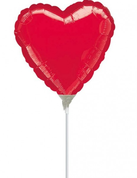 Heart rod balloon Harmony 23cm