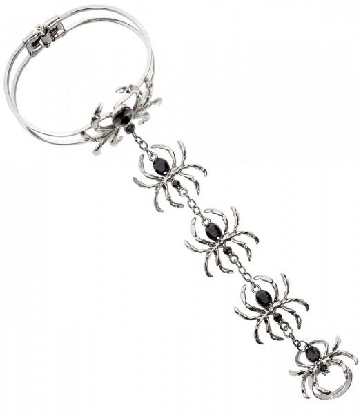 Bracelet araignée Gilda avec bague