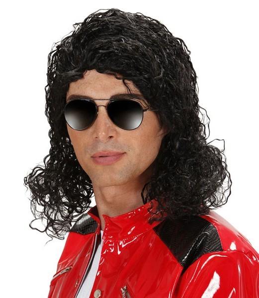 King Of Pop Herrenperücke