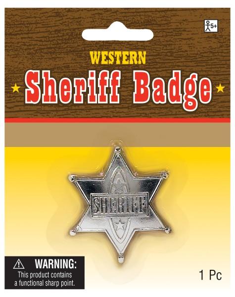 Sheriff star silver