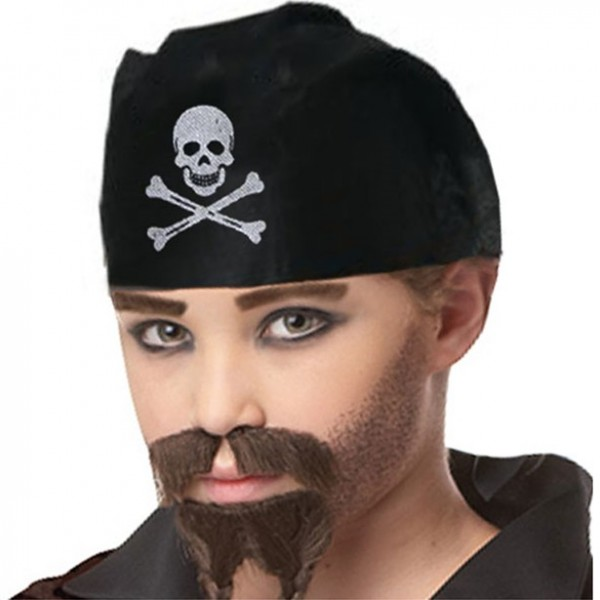 Captain Bone Pirate Headscarf