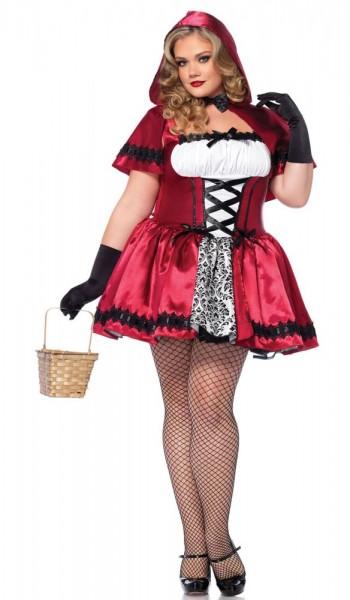 Gothic Rotkäppchenkostüm Curvy Size