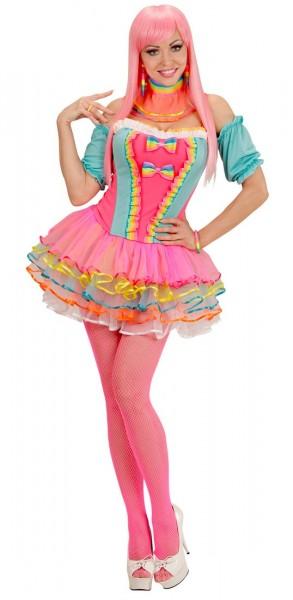 Rainbow candy girl costume