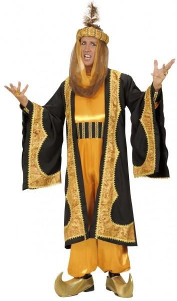 Sultan Herrenkostüm Gold 1