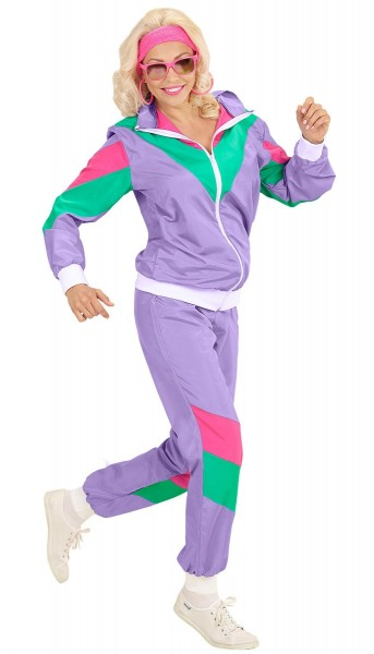 80s jogging suit costume
