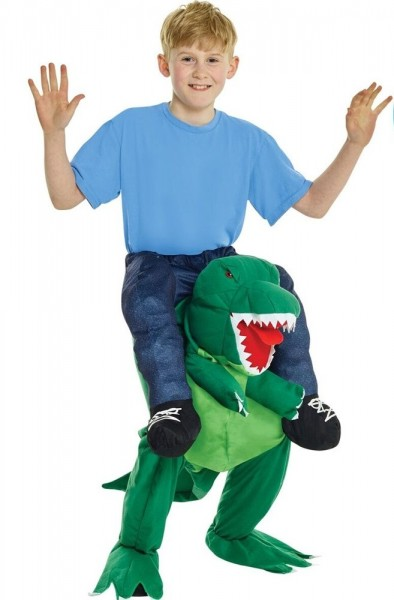 Piggyback Dino Rexar kinderkostuum