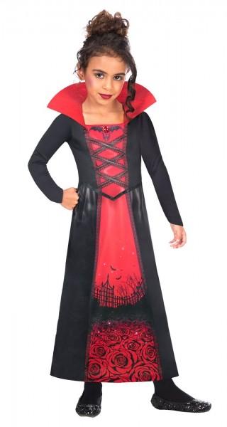 Costume da vampira per bambina ecosostenibile