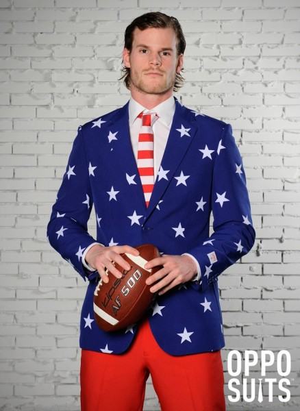 OppoSuits Partyanzug Stars and Stripes