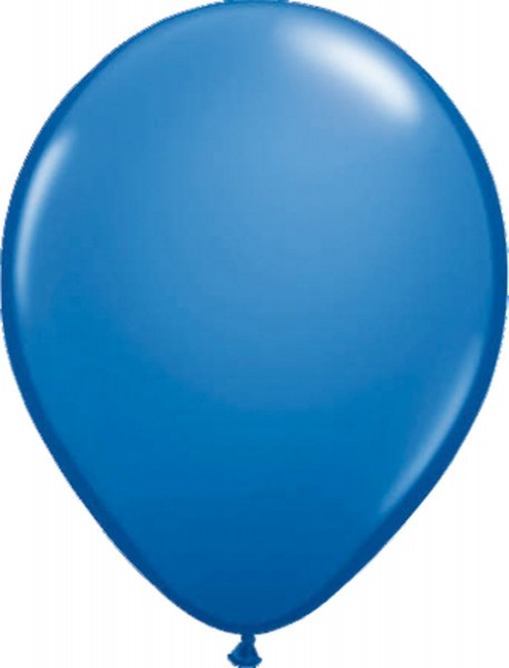 100 ballons bleu marine 30cm
