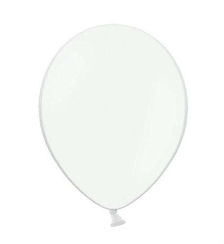 100 globos estrella fiesta blanco 23cm