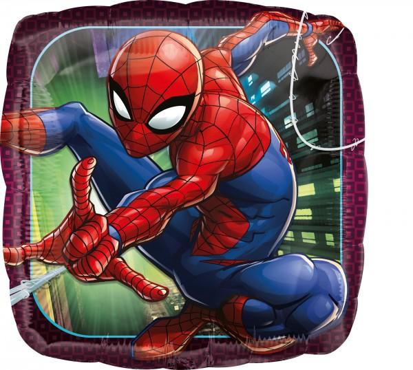 Foil balloon Spider-Man square