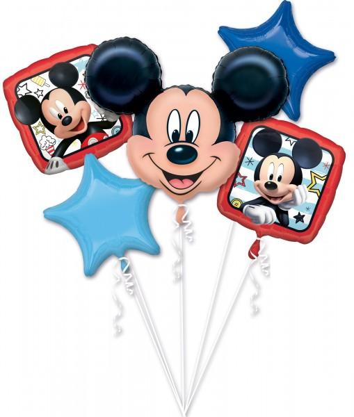 5 Folienballons Micky Sommerfeeling