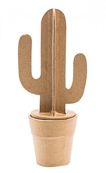 Kaktus Dekofigur zum Selbergestalten 18,5cm