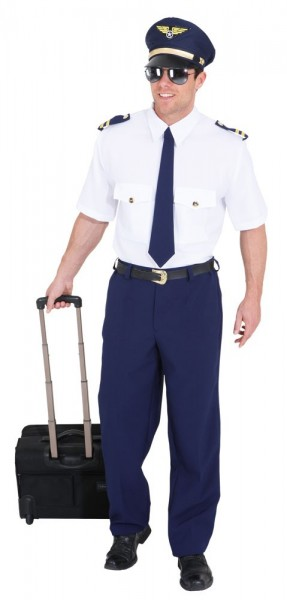 Piloten-Uniform Jason Herrenkostüm