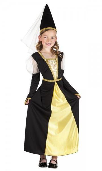 Burgfräulein Amalthea Kostüm Für Kinder