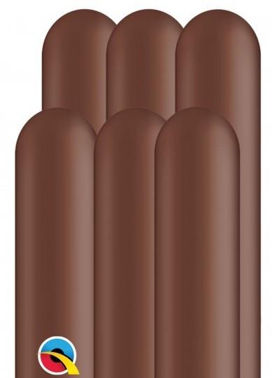 100 modeling balloons 260Q dark brown 1.5m