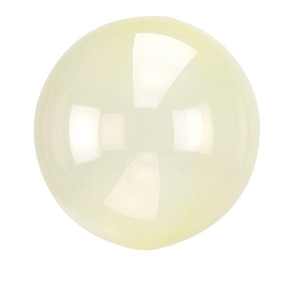 Yellow ball balloon 40cm