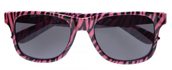 Zebra Brille Pink