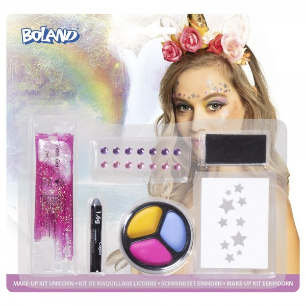 Einhorn Glamour Make -Up Set 6-teilig
