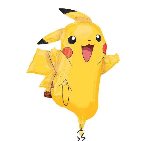 Ballon aluminium Happy Pikachu