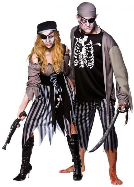 Blutdurstige Piratenbraut Kostüm