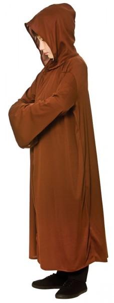 Robe Mit Kapuze Für Kinder Braun