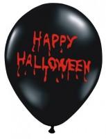 6 blutige Happy Halloween Luftballons 30cm