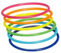 Regenbogen Neon Armband Set