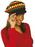 Jamaikanische Mütze