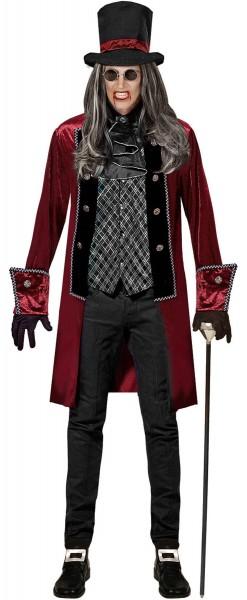 Graaf Victor vampier kostuum voor mannen