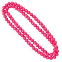 Halskette Neon Pearls pink