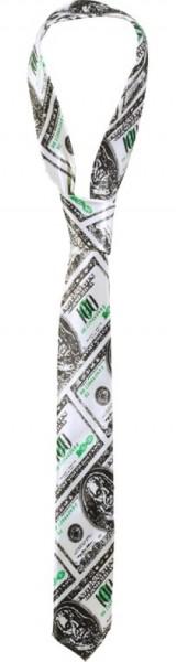 Party Krawatte Mit Dollarschein Motiv