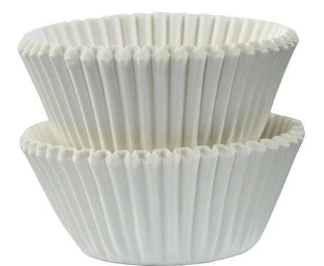 100 étuis pralinés blancs 3cm
