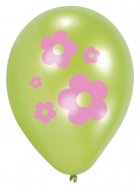 6 adorables ballons hibou 23 cm