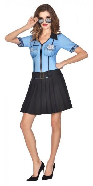 Police Officer Tina Kostüm für Damen