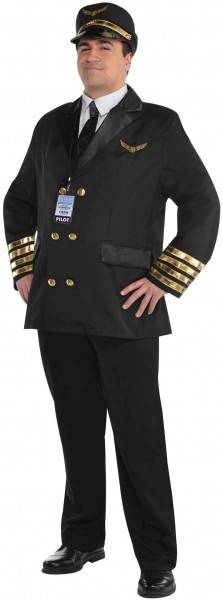Captain Holiday Pilot Men's Costume