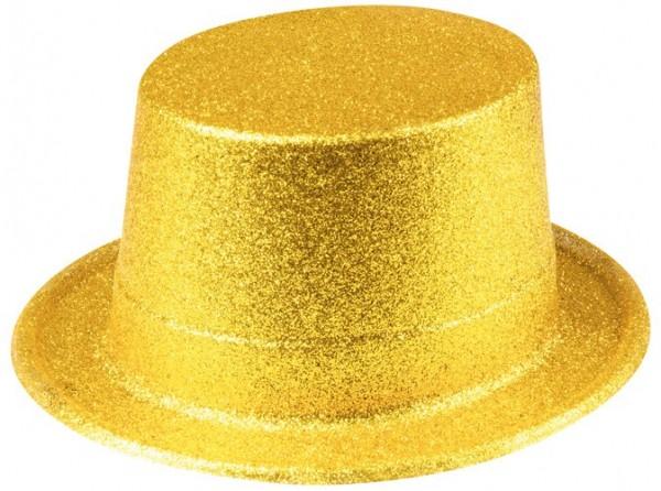 Glitter Party Hut Gold