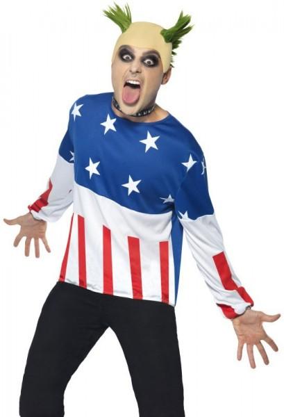 Crazy Party Power Boy Kostüm