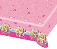 Superstar Barbie Mit Gitarre Tischdecke Rosa 120x180cm