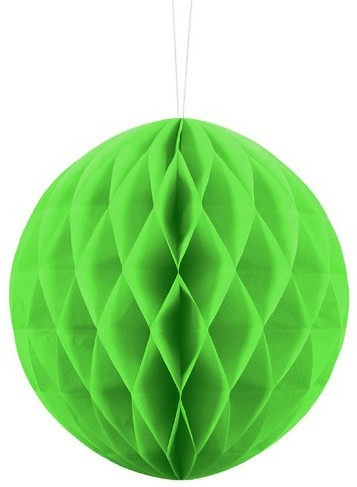 Honeycomb ball Lumina apple green 20cm