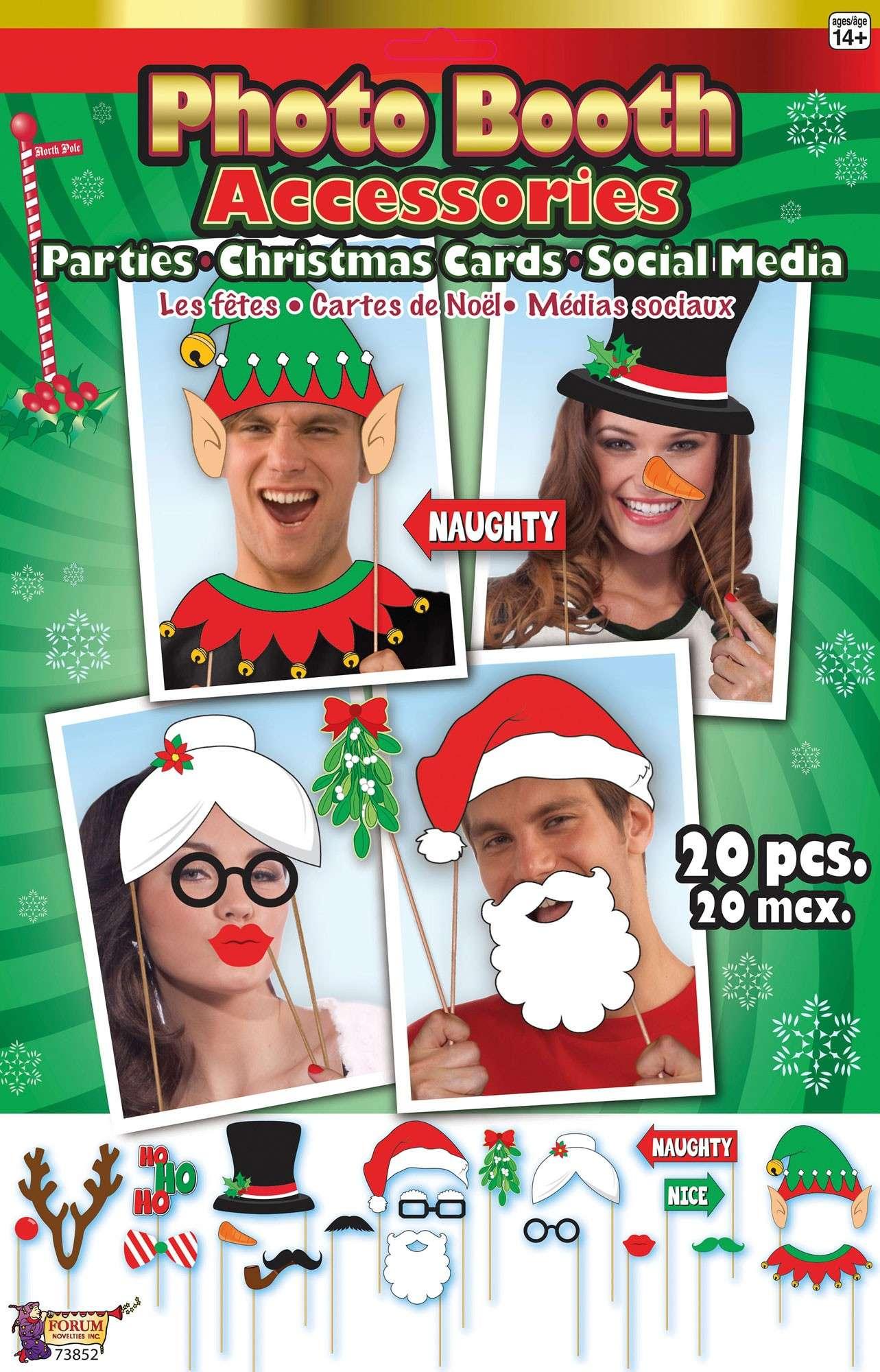 Weihnachts Fotobox Requisiten