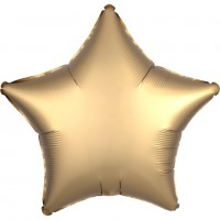 Shiny golden star Folienballon 43cm