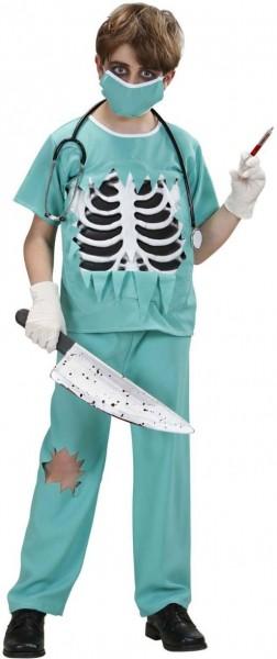 Halloween Kostum Horror Arzt Chirurg Fur Kinder Turkis Party De